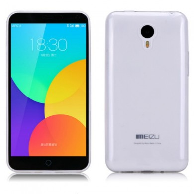 Ultra thin Soft Transparent TPU Case For MEIZU M1 Note
