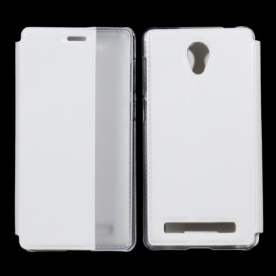 YIKADENG Side Smart View Window Leather Case For Meizu m1 Note