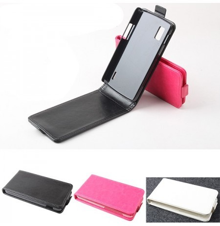 Magnetic Flip-open PU Leather Protective Case For LG Nexus4 E960