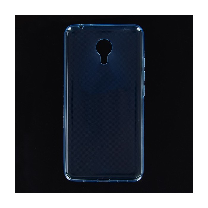 Thin Soft TPU Back Cover Transparent Silicone Protective Case for MEIZU Metal