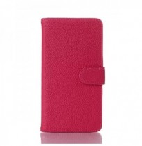 Litchi Grain Leather Cover With Stand Card Slots For LG G Pro 2 F350