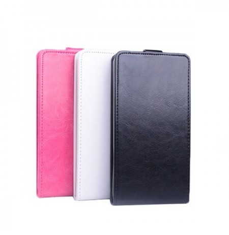 Flip PU Leather Magnetic Protective Case Cover For LG F60