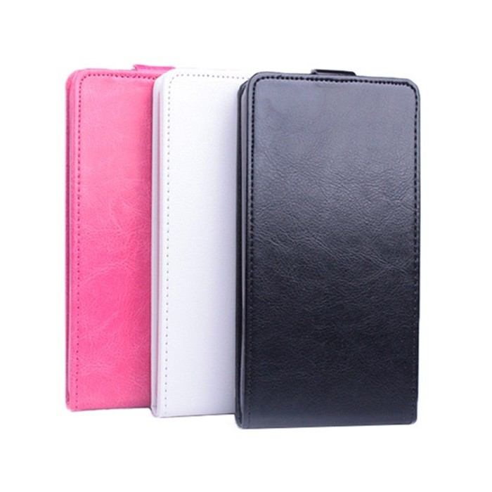 Flip Up And Down PU Leather Protective Case For LG Magna C90 H520N