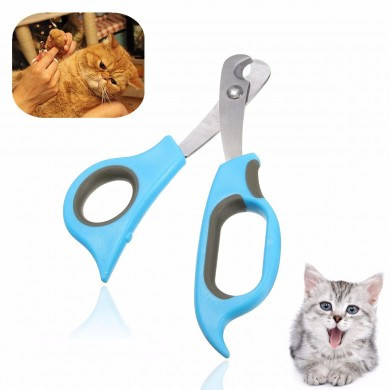Pet Cachorro Cat Rabbit Unhas Clippers Trimmers Toe Paw Claw Grooming Scissors Cutter