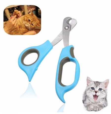 Pet Dog Cat Rabbit Nail Clippers Trimmers Toe Paw Claw Grooming Scissors Cutter