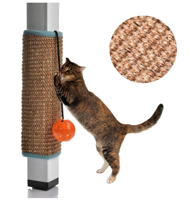 Cat Scratcher Kitten Mat Cat Scratch Board Climbing Tree Chair Table Furniture Protector Pet Toys (Color: carpet) фото