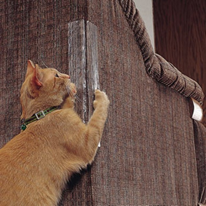 honana pack of 2 cat scratching corner guard no pins needed for cat rh teknistore com how to stop a cat scratching leather furniture