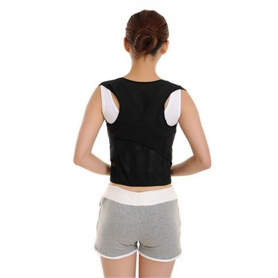Plus Size Posture Corrector Hunchbacked Support Breathable Correction Belt Oversize Lumbar Brace
