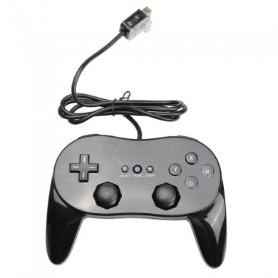 Wired Classic Pro Game Controller For Nintendo Wii Game Remote
