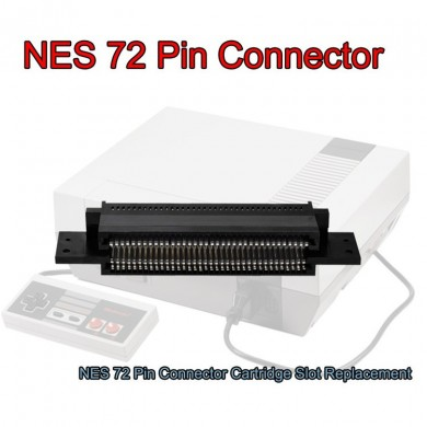 72 Pin Replacement Connector Cartridge Slot for 8 Bit Nintendo NES Entertainment System