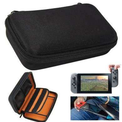 EVA Hard Carrying Case Cover Bolsa de armazenamento de armazenamento de silicone para Nintendo Switch
