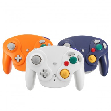 2.4Ghz Wireless Controller Game Gamepad Para Nintendo Gamecube NGC Wii