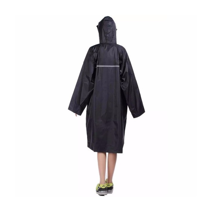 high quality attractive designs latest trends of 2019 Adult Outdooors RainCoat Long Poncho Hood Thicker Reflective Types Design  Work Travel Rainwear