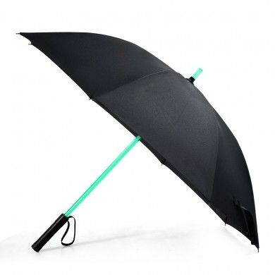 KCASA UB-5 LED Lightsaber Umbrella Laser Sword Light Up Golf Umbrellas with 7 Color Changing Windproof