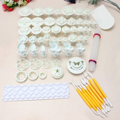 21 Sets 68 PCS Fondant Kuchen Form Set 04072