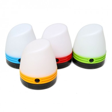 Portable Camping Tent Light Lantern Magnet LED Night Light Emergency Mini Lamp 3 Modes
