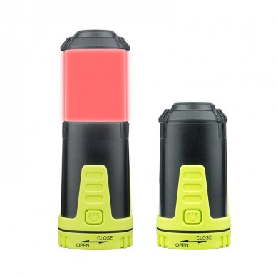 Portable Retractable Camping Light Outdoor Emergency Tent Lantern Mini Lamp Torch