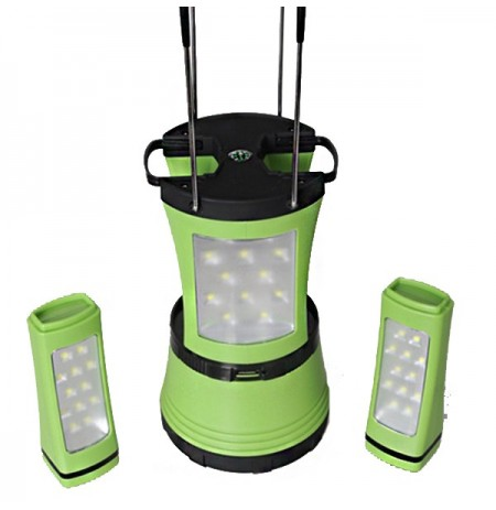 Camping Tent Led Highlight Lantern Portable Emergency Light Lamp Torch With Compass