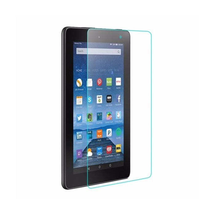 eBook Reader Screen Protector 9H 2.5D 0.4mm Tempered Glass For Kindle Fire 7
