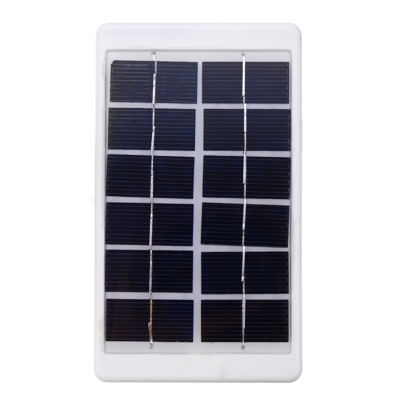 6V 1W Portable Solar Panel Powered LED Light Lamp Bulb Remote
