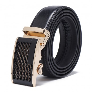 125 CM Mens Business Two-Layer Leather Belt Waist Belts