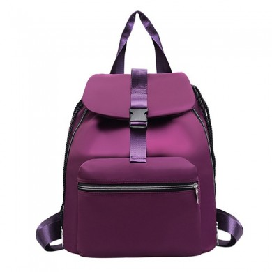 Women Nylon Leisure Large Capacity Backpack Shoulder Bag