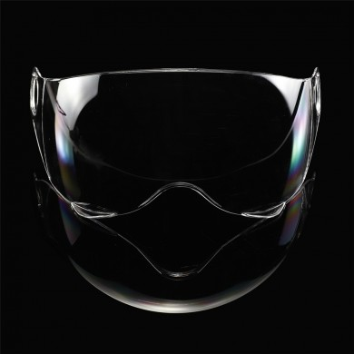 PC Motocross Motorrad Helm Visier Objektiv Schild Winddicht Anti-Scratch Half Face