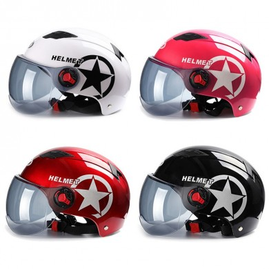 Motorcycle Helmet Scooter Bike Open Face Half Baseball Cap Anti-UV Safety Hard Hat