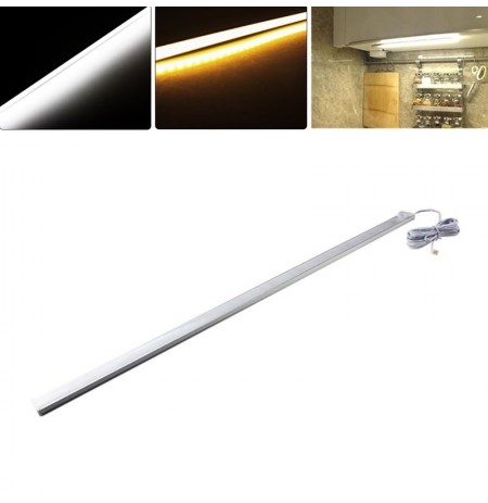 50CM Body PIR Motion Sensor LED Tube Cabinet Rigid Light for Kitchen Closet Wardrobe DC12V