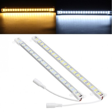 30CM 8W SMD5630 U Shape Dual Row 42LEDs Rigid Strip Hard Bar Light DC12V