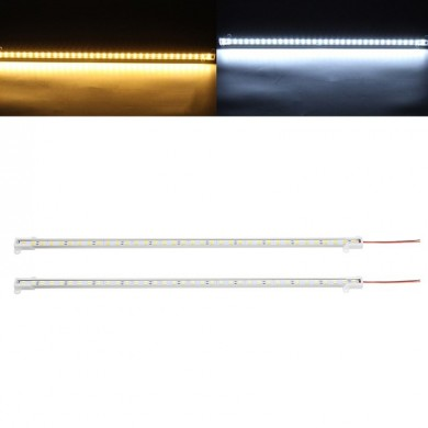 DC12V 50CM 14.4W SMD5630 U Shape Double Rows 72LEDs Rigid Strip Hard Bar Light