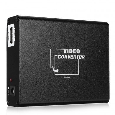HD al adaptador de audio estéreo SCART Composite Video Converter para HD Blue Ray DVD