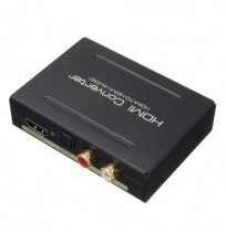 HD to HD and Optical SPDIF RCA L/R 1080P 5.1CH Audio Extractor Converter