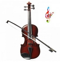 Adjust String Kids Simulation Toy Bow Violin Musical Instrument