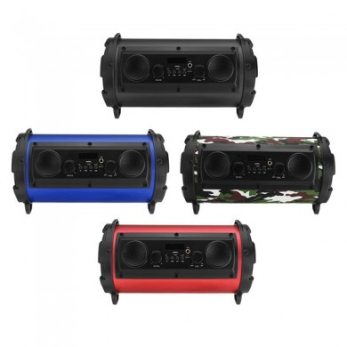 Portable LED Bluetooth Super Bass Loud Speakers For Tablet Smartphone
