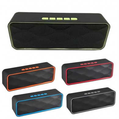 Wireless Bluetooth Speaker Portable Subwoofer Super Bass Stereo Loudspeakers For Tablet Cellphone
