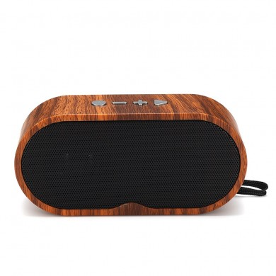 Wooden Wireless Bluetooth Speaker Subwoofer Super Bass Stereo Loudspeakers For Tablet Cellphone