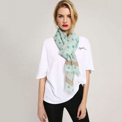 Women Linen Lightweight Scarf  Fashion Summer Shawl