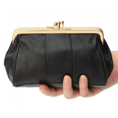 Women Hasp Clutches Bags Elegant Party Bags Portable Card Holder Coin Bags
