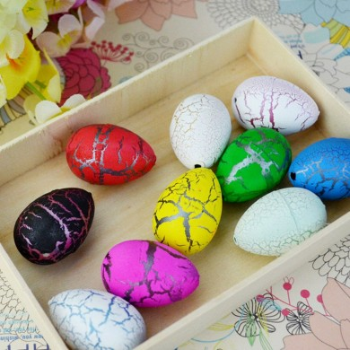 20PC Large Funny Magia Growing Hatching Dinosaur Eggs Christmas Child Science Toy Gifts