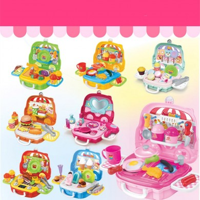 Pretend Gioca Set Kids Dream Suitcase Educational Role Gioca a Boys Girls Blocks Toys Set