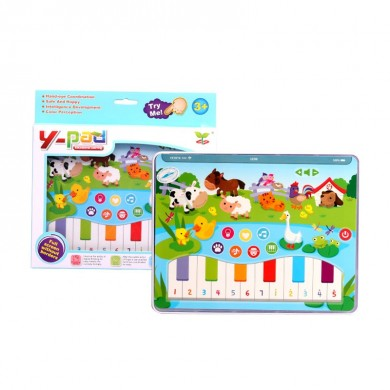 MoFun 2602B Dot Reading Machine Inglese Early Education Light Music Learning Farm Tablet