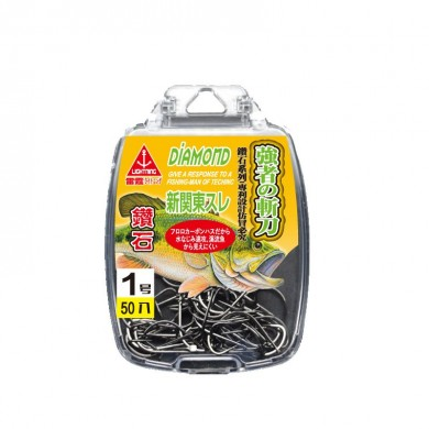 ZANLURE Japanese Original High Carbon Steel Fishing Hook Diomand Fishing Tackle