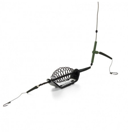 40/60/80g 50cm Sea Fishing Barbed Hook with Plumb Bob Bait Cage