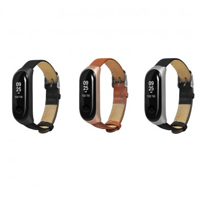 Bakeey Matte Case Watch Strap Skin Soft Design Watch Banda per Xiaomi Miband 3