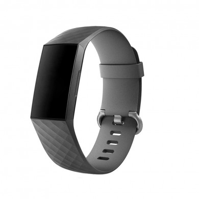 Bakeey Soft Silicone Diamond Modello Guarda Banda per Fitbit Charge 3