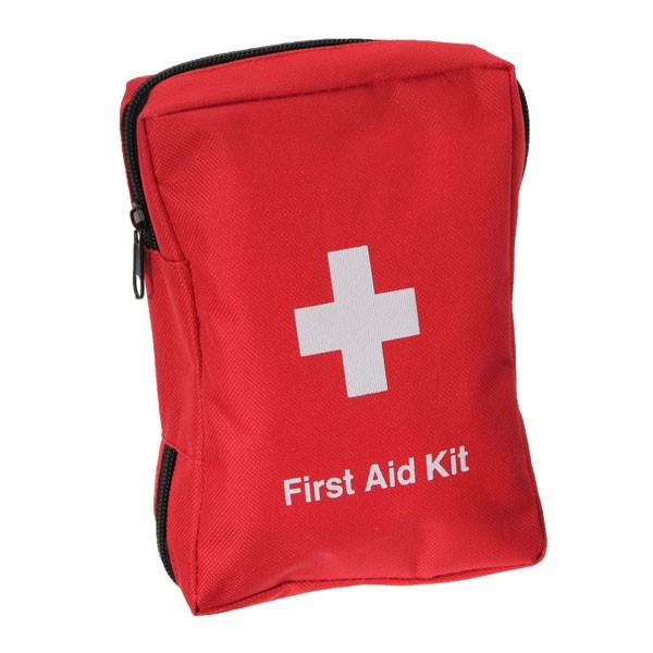 Outdoor Survival 12 In 1 Emergency Bag First Aid Bag Middle Size Red