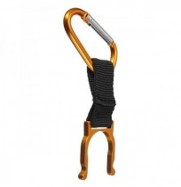 IPRee Camping Hiking Water Bottle Carabiner Buckle D Shape Strap Keychain Holder