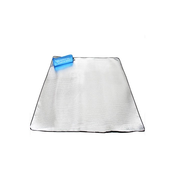 Camping Hiking Moisture-proof Mat Tent Picnic Mat Pad Aluminium Film Double Sided