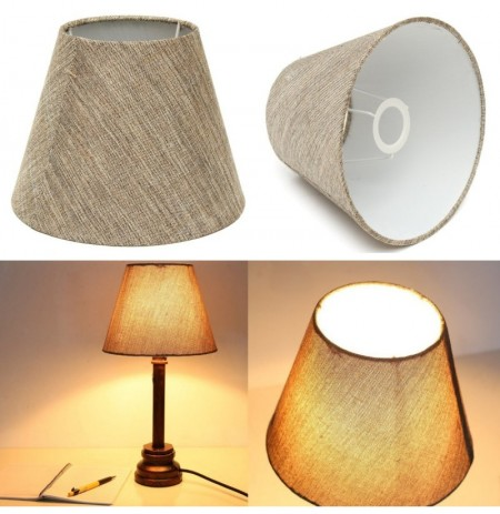 2PCS Set Linen Table Wall Lamp Shades Urbanest Chandelier Desk Fabrics Droplight
